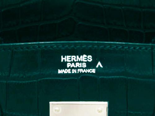 エルメス 素材刻印 ポロサスの刻印