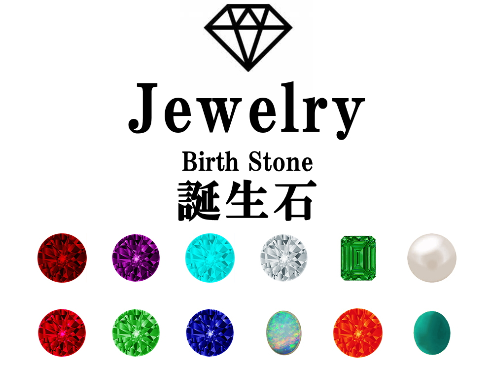 日本や世界の誕生石