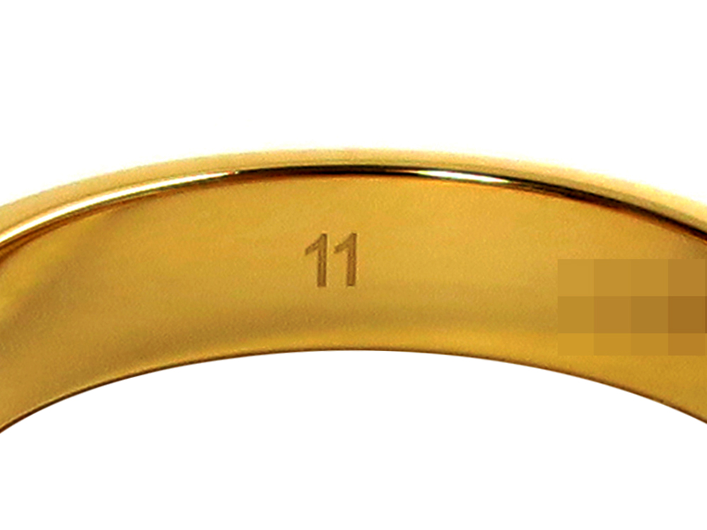 日本や海外の指輪 サイズ表記 JCS規格11