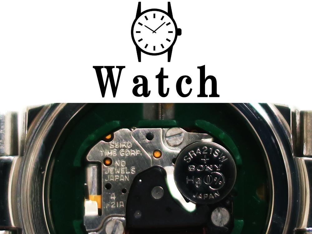 腕時計 ボタン・コイン電池 互換表