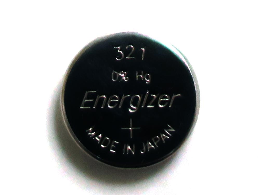 腕時計 ボタン・コイン電池 互換表 321