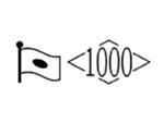 貴金属製品のホールマーク 品位証明の刻印 シルバー AG1000 変更前