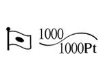 貴金属製品のホールマーク 品位証明の刻印 コンビ AU1000 PT1000 変更前
