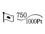 貴金属製品のホールマーク 品位証明の刻印 コンビ AU750 PT1000 変更前