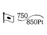 貴金属製品のホールマーク 品位証明の刻印 コンビ AU750 PT850
