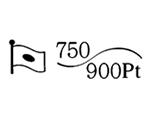 貴金属製品のホールマーク 品位証明の刻印 コンビ AU750 PT900