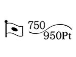 貴金属製品のホールマーク 品位証明の刻印 コンビ AU750 PT950