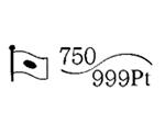 貴金属製品のホールマーク 品位証明の刻印 コンビ AU750 PT999