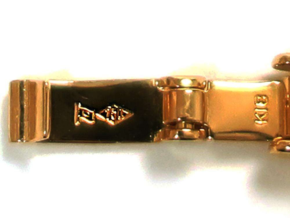 造幣局 ホールマーク 品位証明の刻印 ゴールド K18 AU750
