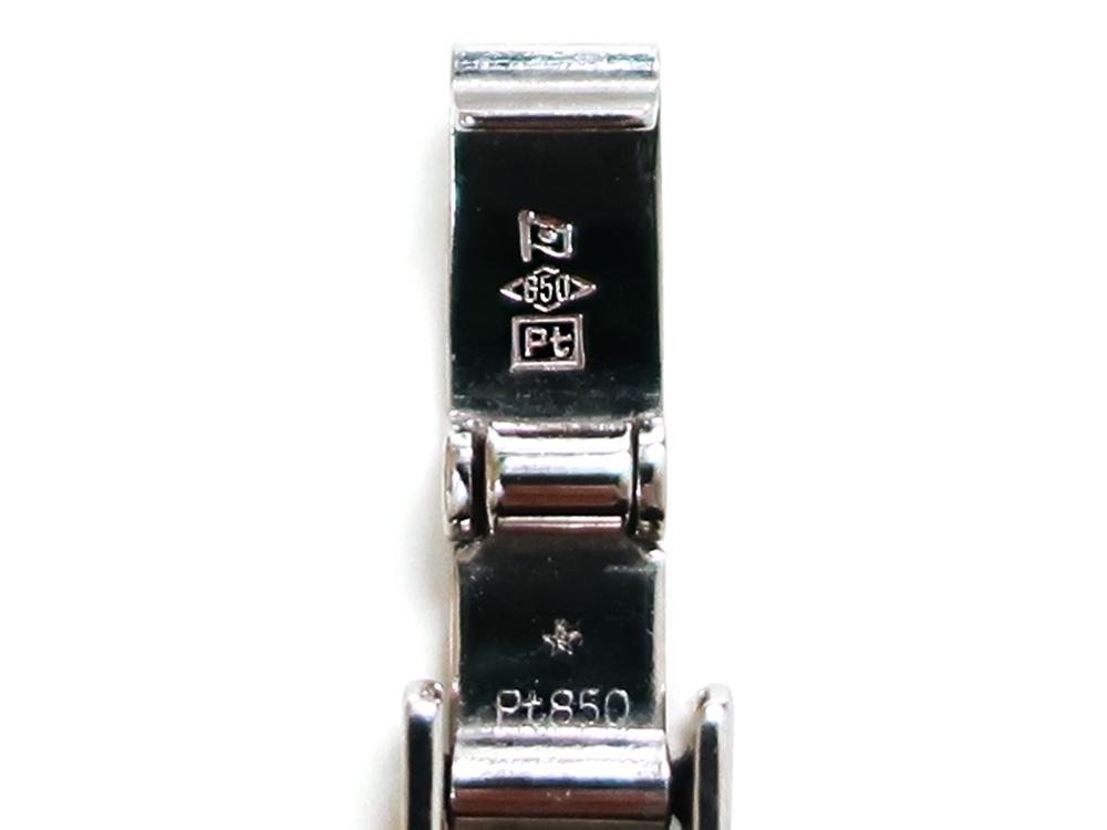造幣局 ホールマーク 品位証明の刻印 プラチナ PT850
