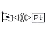 貴金属製品のホールマーク 品位証明の刻印 プラチナ PT1000 変更前