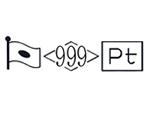 貴金属製品のホールマーク 品位証明の刻印 プラチナ PT999