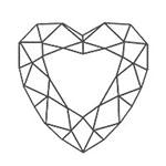 宝石 カットの種類 ハートシェイプ ブリリアントカット