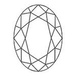 宝石 カットの種類 オーバル ブリリアントカット