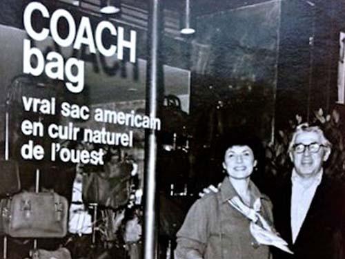 コーチ Coach 歴史 マイルズ・カーン リリアン・カーン
