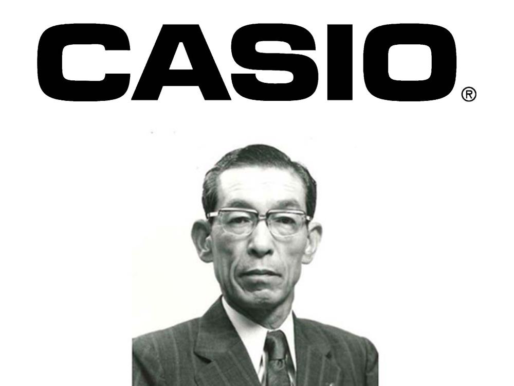 カシオ Casio 歴史 ヒストリー トップ