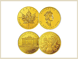 買取可能な金製品 コイン・メダル
