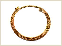 買取可能な金製品 ネックレス・ブレスレット
