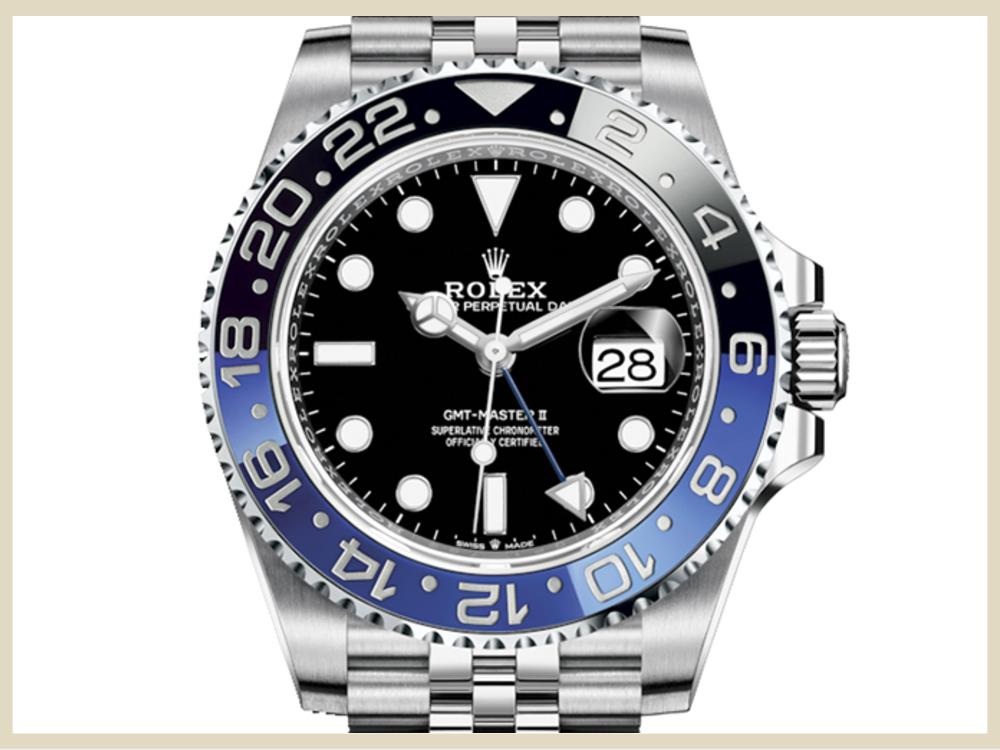 ブランド時計 高価買取アイテム ROLEX ロレックス GMTマスターⅡ 126710BLNR
