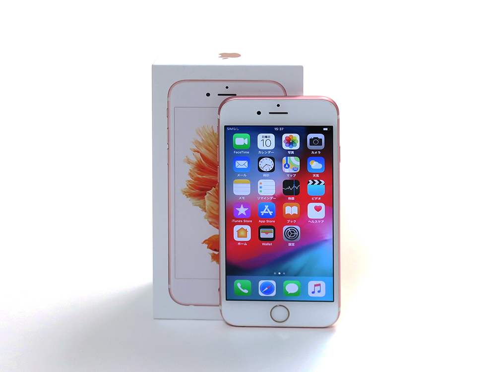 Apple iPhone6s 128GB ローズゴールド MKQW2J/A 買取実績 2020.07