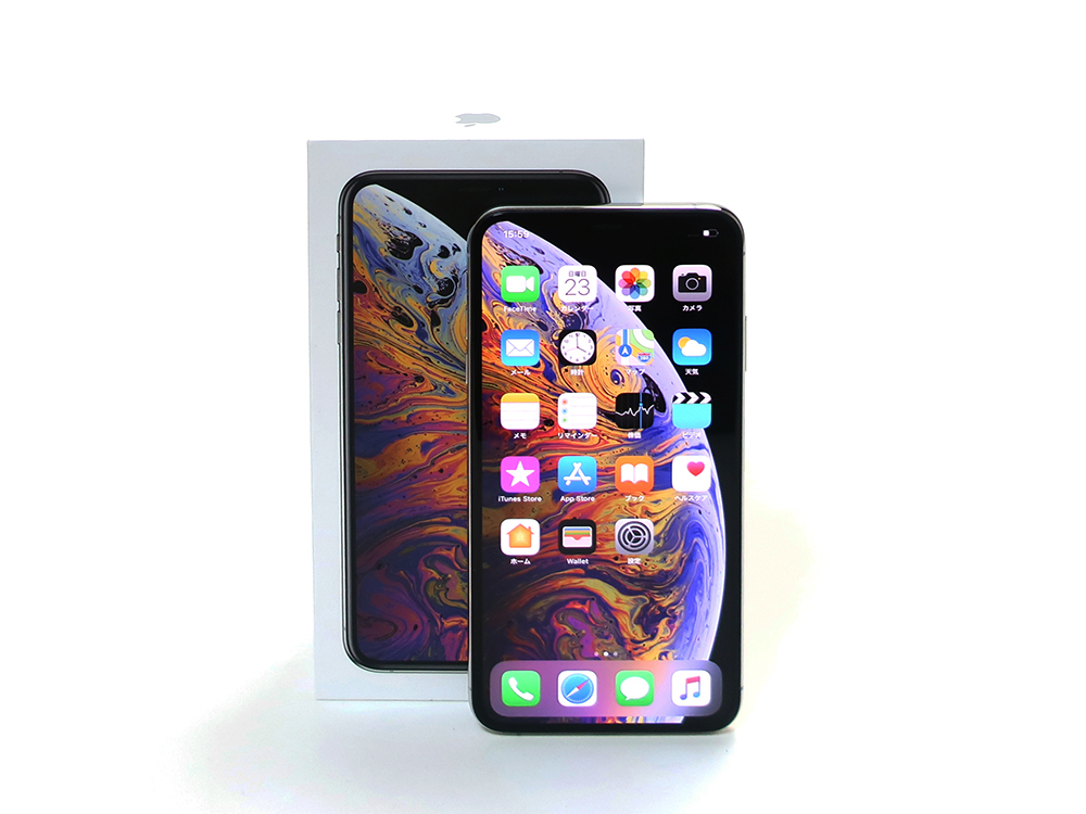 Apple iPhoneXS Max 256GB シルバー MT6V2J/A 買取実績 2020.08
