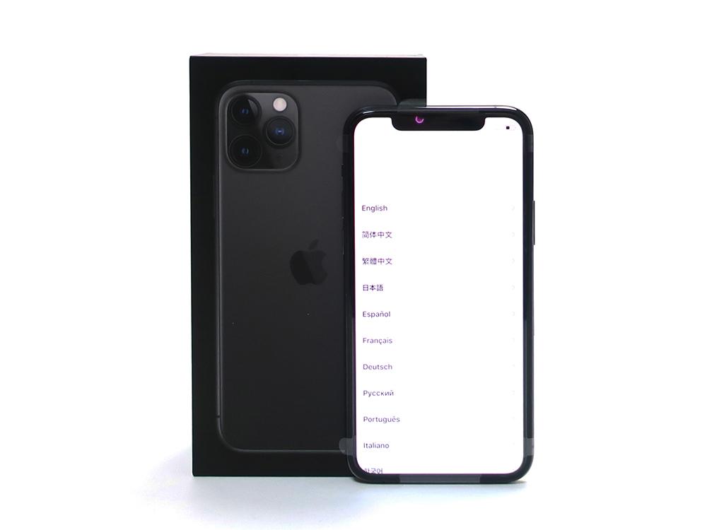 Apple iPhone11 Pro 256GB スペースグレイ MWC72J/A 買取実績 2020.09