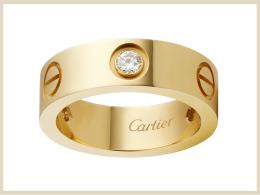 カルティエ 指輪 リング 高価買取アイテム Love リング ダイヤモンド B4032400