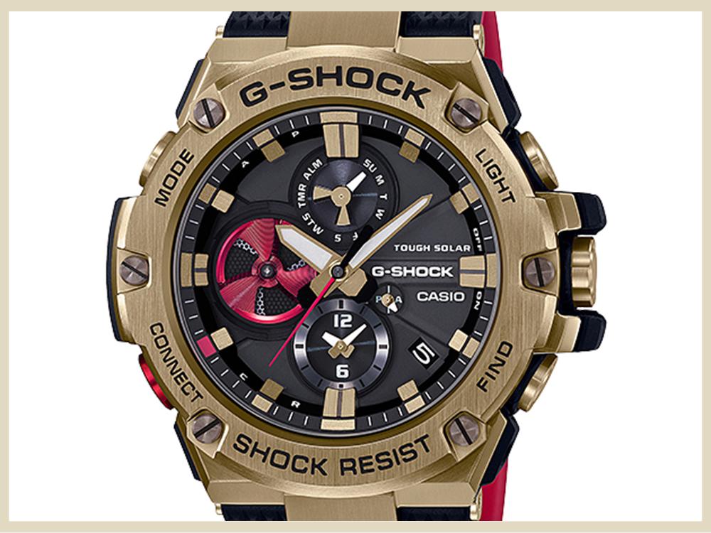 ブランド時計 高価買取アイテム CASIO G-SHOCK G-STEEL GST-B100RH-1AJR