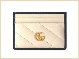 グッチ カードケース 高価買取アイテム GGマーモントカードケース 573812