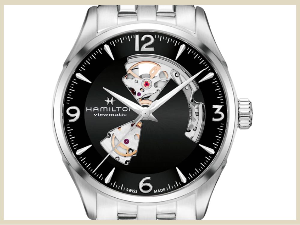 ブランド時計 高価買取アイテム HAMILTON ジャズマスター オープンハート H32705131