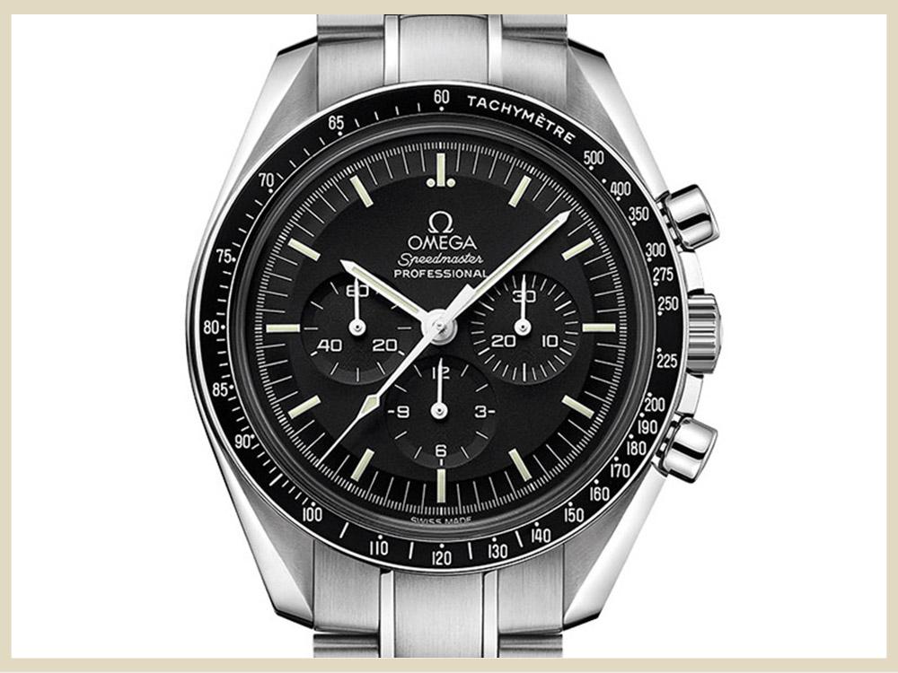 ブランド時計 高価買取アイテム OMEGA オメガ スピードマスター ムーンウォッチ プロフェッショナル 311.30.42.30.01.005