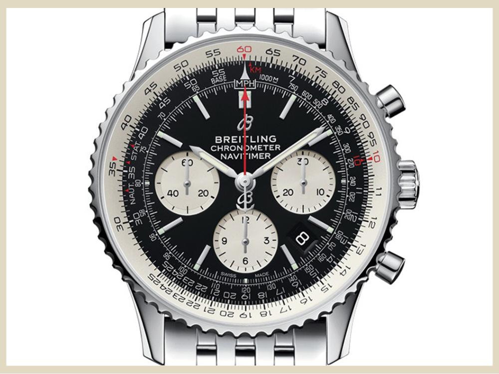 ブランド時計 高価買取アイテム BREITLING ブライトリング ビタイマー B01 クロノグラフ43 AB0121211B1A1