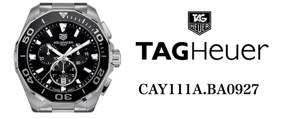 タグ・ホイヤー アクアレーサー CAY111A.BA0927
