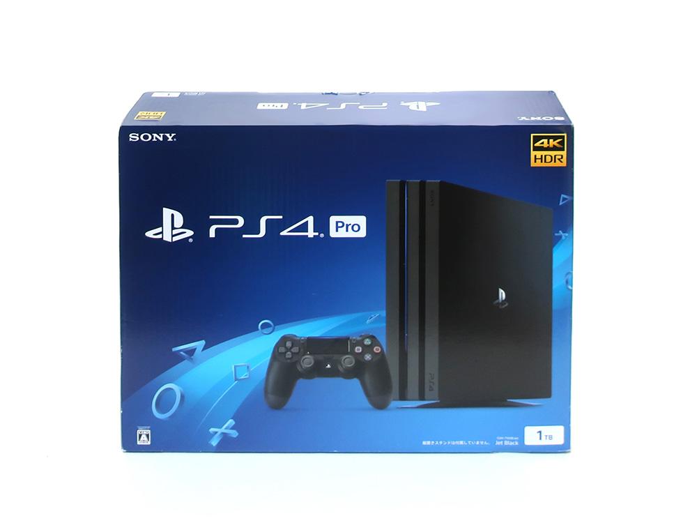 ソニー プレイステーション4 Pro ジェット・ブラック 1TB CUH-7100BB01 買取実績 2020.11