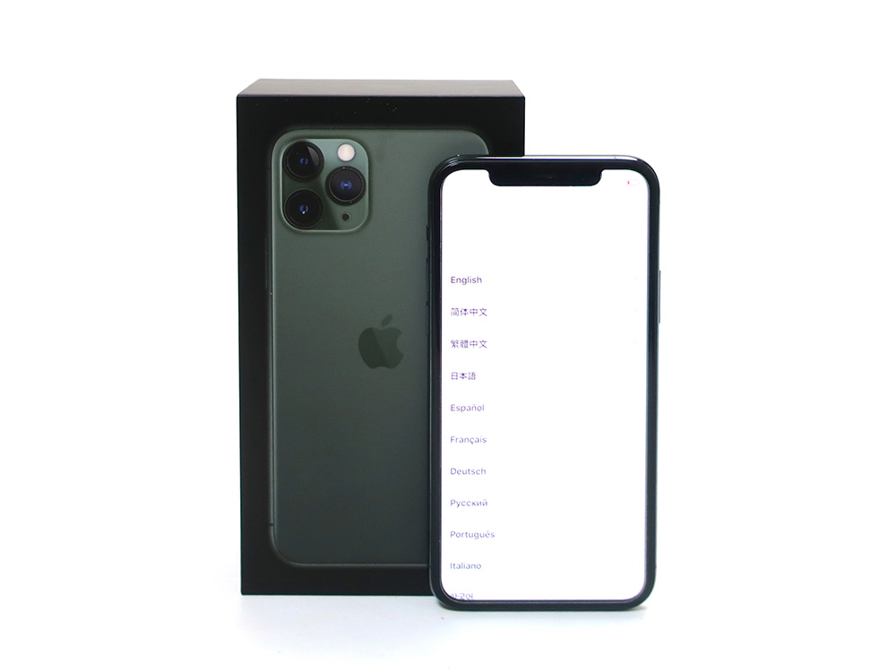 Apple iPhone11 Pro 256GB ミッドナイトグリーン MWCC2J/A 買取実績 2020.11
