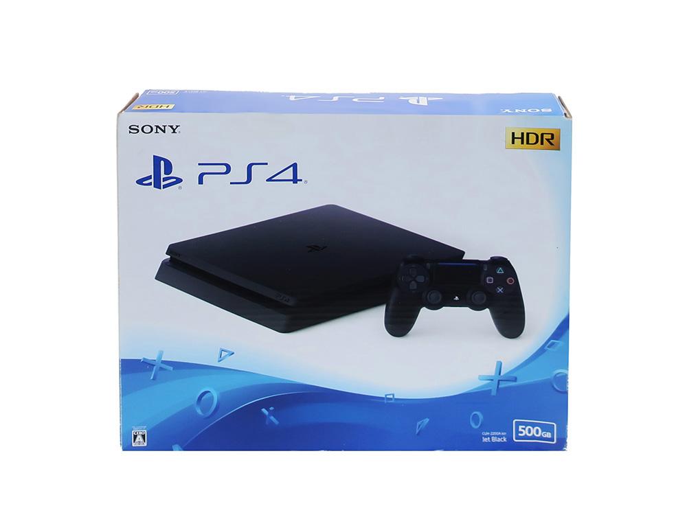 ソニー プレイステーション4 ジェット・ブラック 500GB CUH-2200AB01 買取実績 2020.12