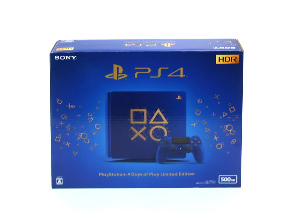 ソニー プレイステーション4 Days of Play Limited Edition 500GB CUH-2100ABZN 買取実績 2021.01