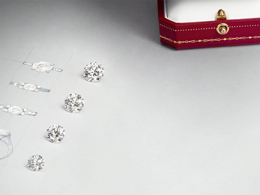 カルティエのダイヤモンド 4C