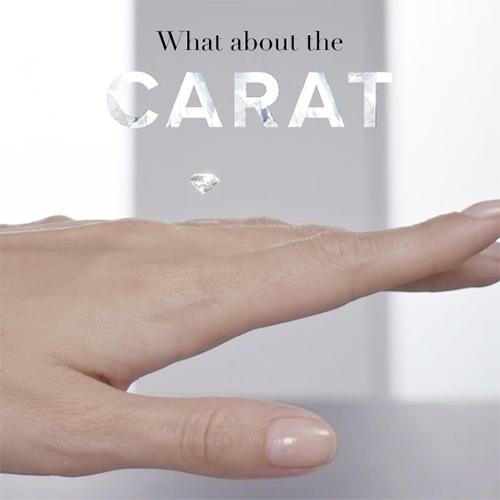カルティエのダイヤモンド カラット