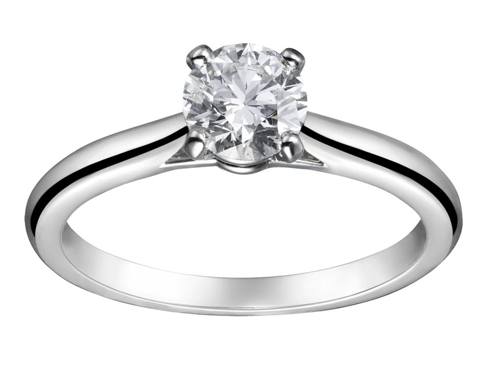 カルティエのダイヤモンド ソリテール