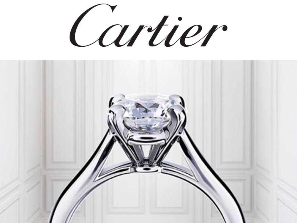 カルティエのダイヤモンド