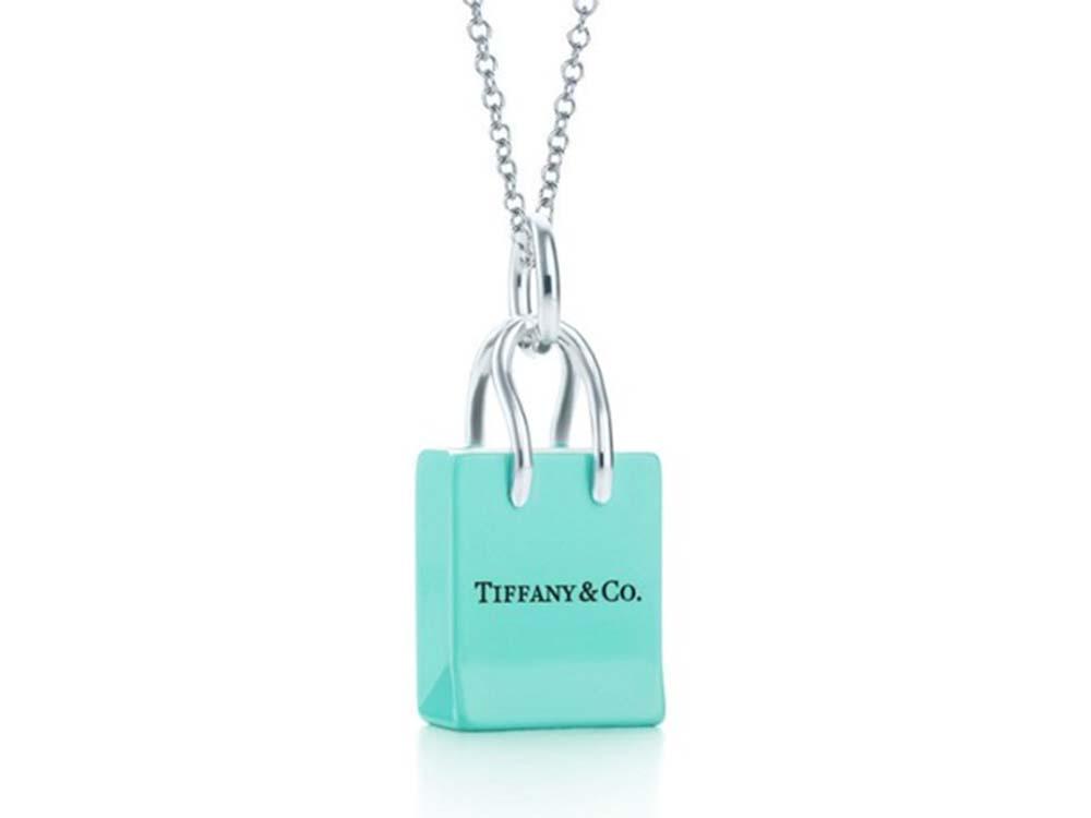 ティファニーブルーについて ティファニーショッピングバッグチャーム