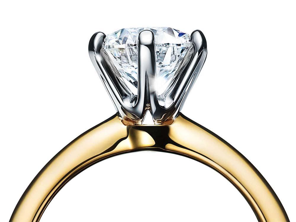 ティファニーのダイヤモンド セッティング