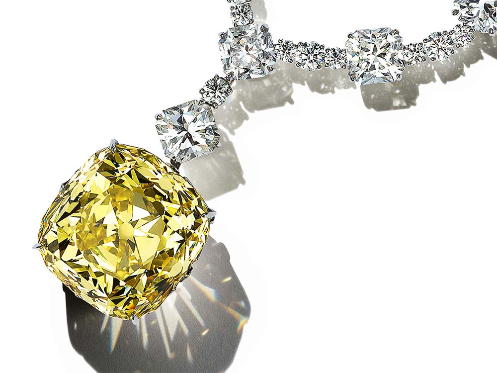 ティファニーのダイヤモンド イエローダイヤモンド