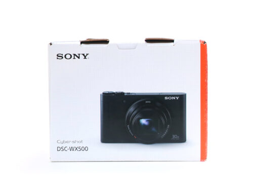 ソニー コンパクトデジタルカメラ Cyber-shot DSC-WX500 ブラック 買取実績 2021.03