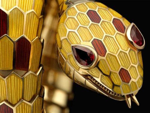 ブルガリの魅力 ヘビ セルペンティ