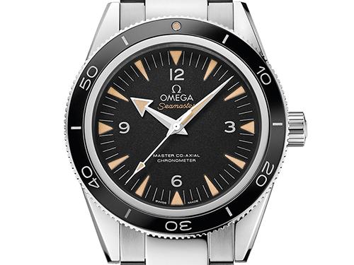 ブランド時計オメガ高価買取のための保管方法 オメガの人気モデル シーマスタ 300 マスター コーアクシャル クロノメーター 233.30.41.21.01.001