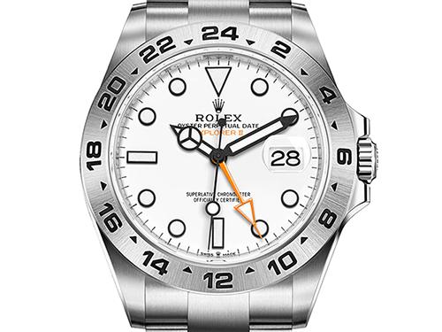 ロレックスの買取価格相場の推移 エクスプローラーⅡ ホワイト 226570