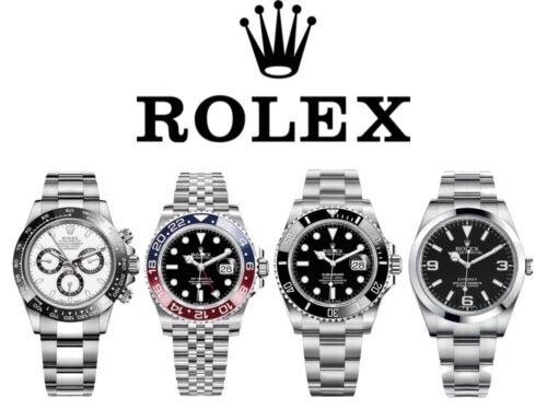 ロレックス「デイトナ・GMTマスターII・サブマリーナ・エクスプローラー」の高価買取のポイント