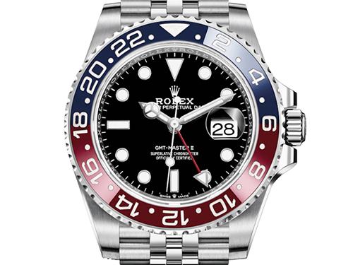 今高く売れるブランド時計10選 ロレックス ROLEX GMTマスター